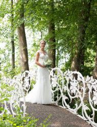Prachtige trouwjurk van het merk La Sposa maat 36