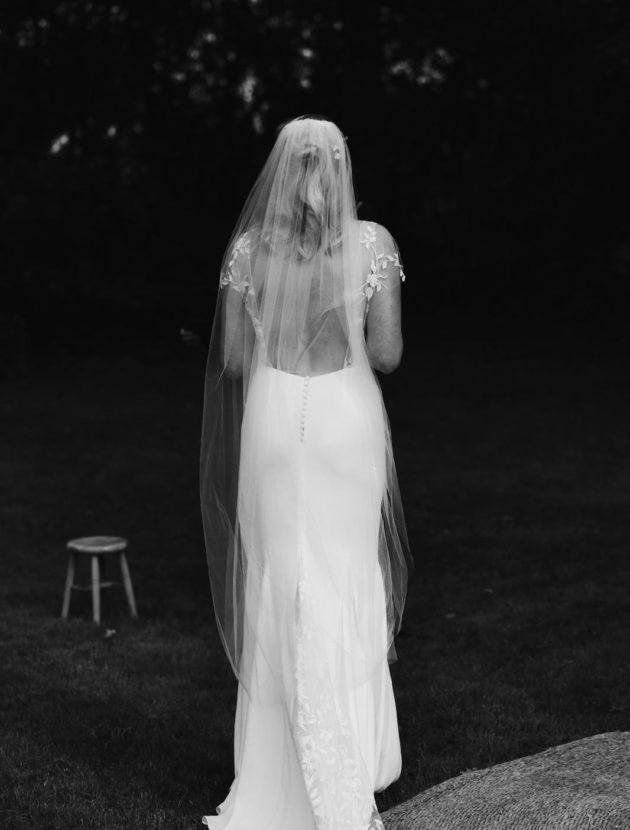 Rime Arodaky faith trouwjurk met kanten sleep