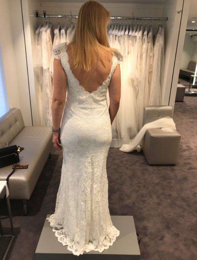 Prachtige Bruidsjurk Van Olvi S Lace Collection Met