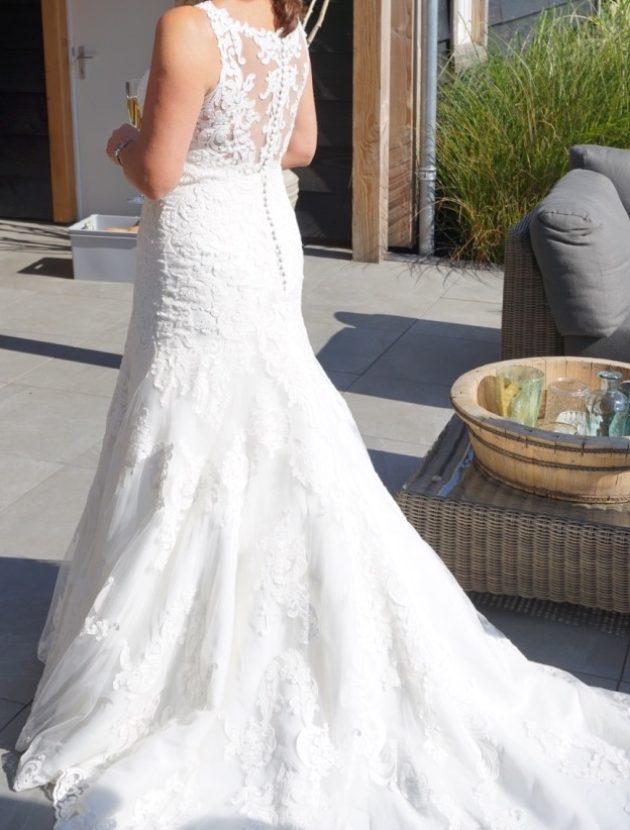 Prachtige Spaanse trouwjurk van Rosa Esteva