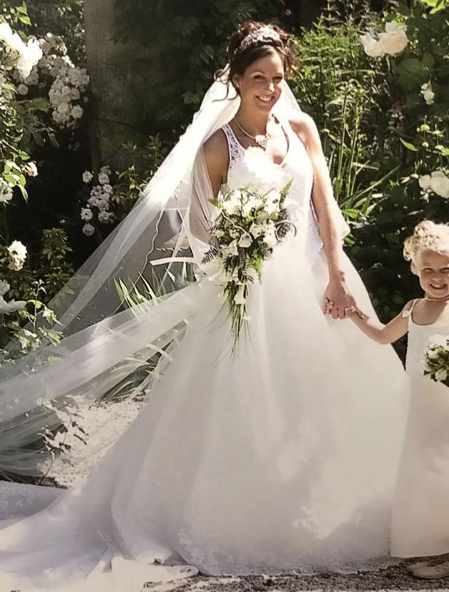 Prachtige Eddy-K prinses jurk