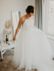 Trouwjurk Theia Couture maat 36