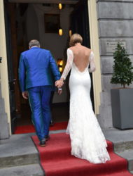 Sexy en romantische trouwjurk van Olvi's