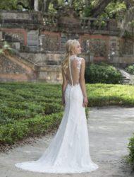 Lekker zittende jurk van Sincerity met bijzondere rug