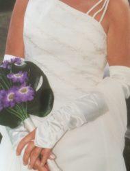 Originele stijlvolle trouwjurk