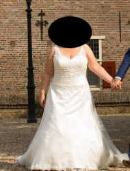 Mooie prinsessenjurk van Beautiful Brides