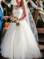 Prachtige romantische jurk van Beautiful by Enzoani