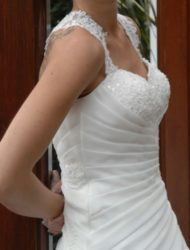 Mooie A-lijn trouwjurk van Sweetheart